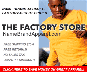 Name Brand Apparel from The Factory Store