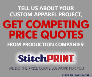 Get Screen Printing and Embroidery Price Quotes from Competing Companies!